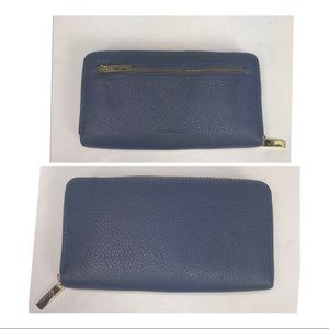 Buxton leather clutch wallet NWT